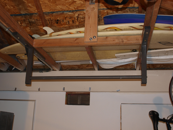 Stud Bar Chin Up Squared, Pull Up Bar Garage Ceiling