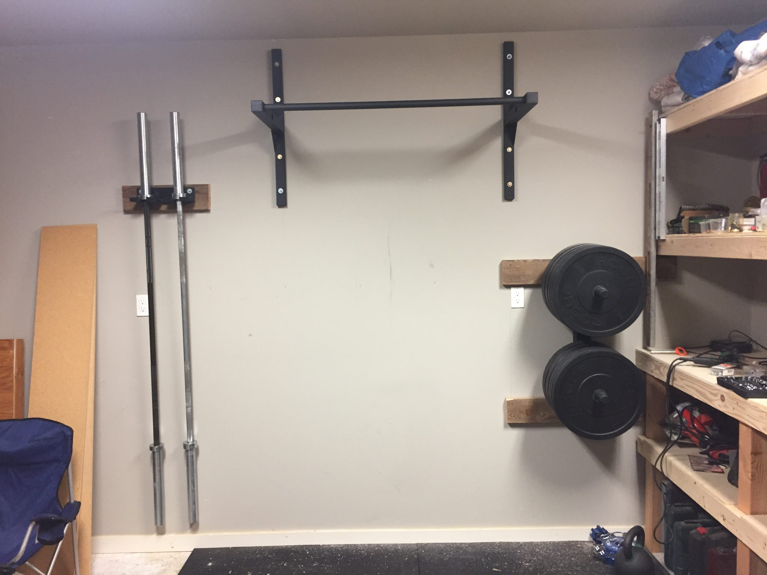 Ceiling Or Wall Mounted Pull Up Bar