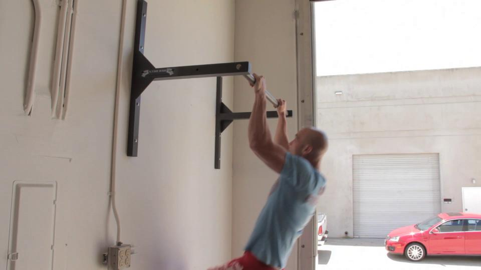 Ceiling Or Wall Mounted Pull Up Bar, Pull Up Bar Garage Ceiling